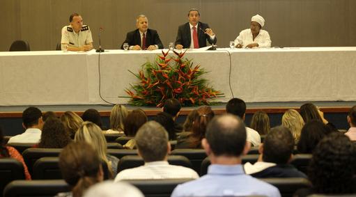 Ouvidoria Geral do Estado ( OGE )realiza encontro com ouvidores estaduais. Foto: Elói Corrêa/GOVBA
