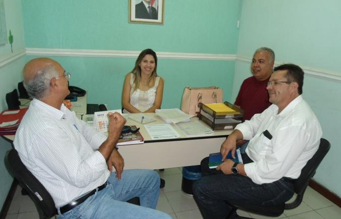 Lucius Flávius do CDS-LS; Luciano Veiga; Eduardo e Cibele do Inema