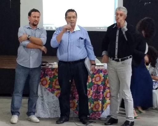 Anderson Alves, Luciano Veiga e Daniel Albuquerque