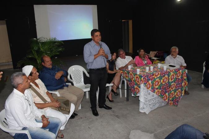 Lenildo Santana destacou a importância da união para mudar o quadro de crise hídrica na região