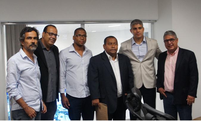 julio oliviera, Genilson Souza, Antonio de Anisio, mauricio Barbosa e Rosemberg Pinto