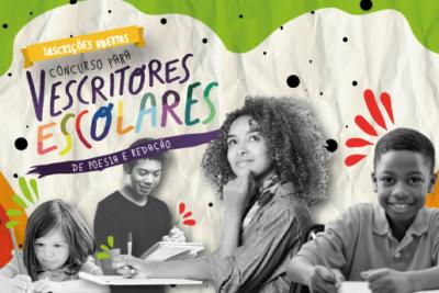 Abertas as inscrições do VI Concurso para Escritores Escolares de Poesia e Prosa