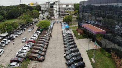 Governador entrega  50 viaturas para 15 municípios baianos