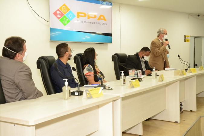 Audiência Pública na Câmara de Vereadores debateu PPA 2022-2025 e LOA 2022